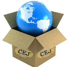 CEJ worldwide shipping