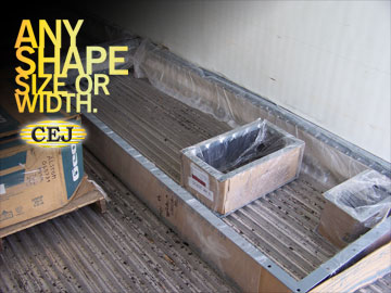 Custom Expansion Joints, Inc. Fabric Expansion Joints shipping