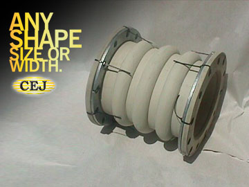 Custom Expansion Joints, Inc. Rubber Expansion Joint